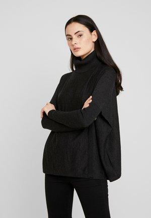 KOKO WRAP JUMPER - Jersey de punto - black