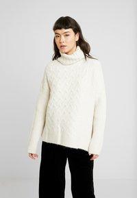 AllSaints - LILIYA JUMPER - Jersey de punto - dune white - 0