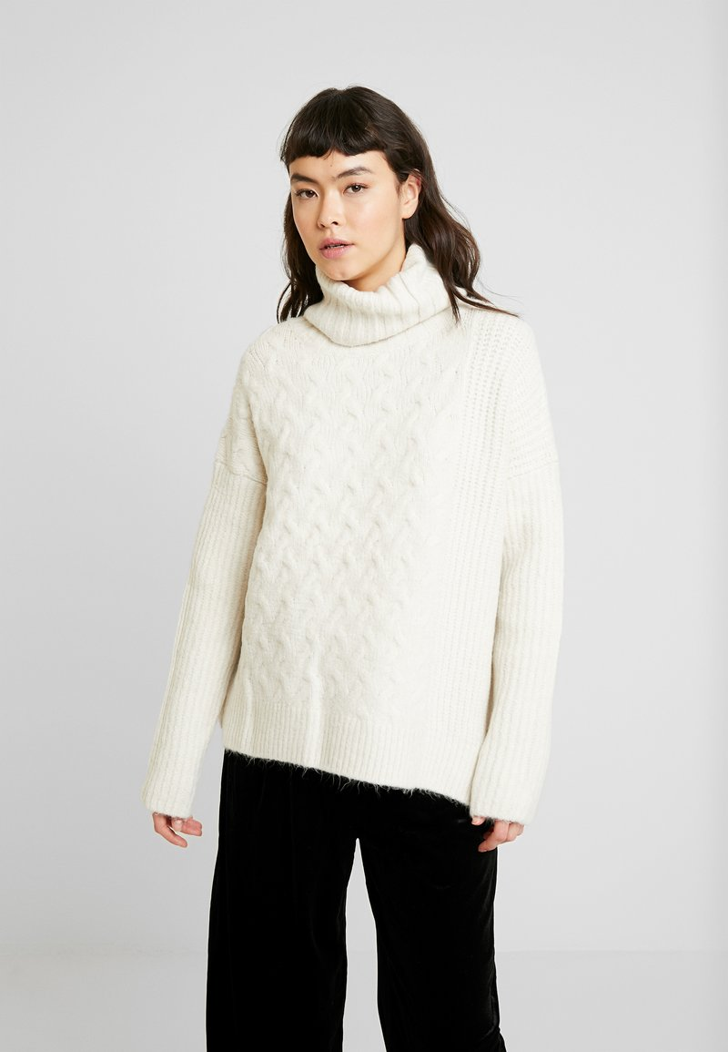AllSaints - LILIYA JUMPER - Jersey de punto - dune white