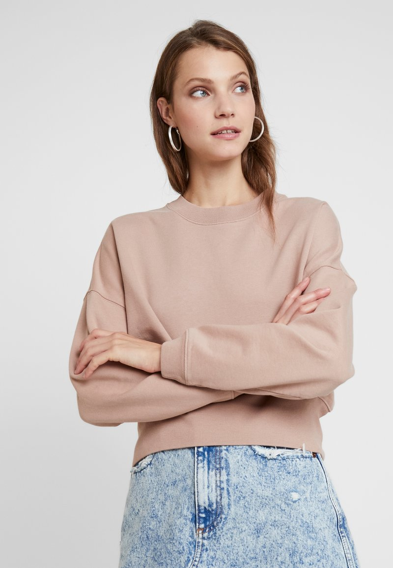AllSaints - ENRICO - Sweatshirt - nude