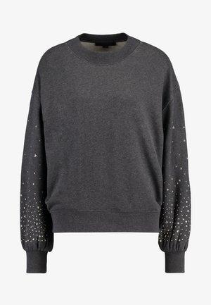 STAR STUD - Sweatshirt - charcoal