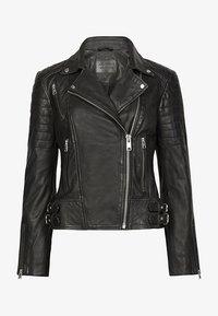 AllSaints - PAPIN - Giacca di pelle - black - 3