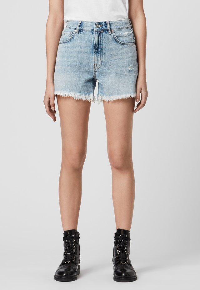 YANNI - Jeans Short / cowboy shorts - blue