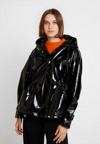AllSaints - KELSIE NYA JACKET - Faux leather jacket - black - 0
