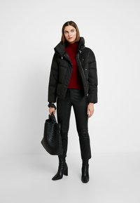 AllSaints - PIPER PUFFER - Winter jacket - black - 1