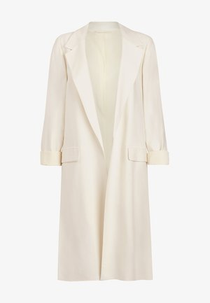 ALEIDA DUSTER - Short coat - white