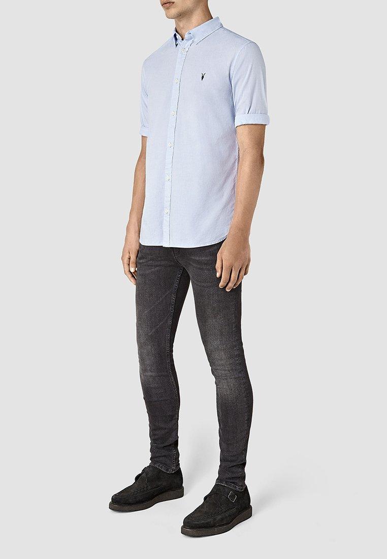 AllSaints REDONDO - Koszula - light blue
