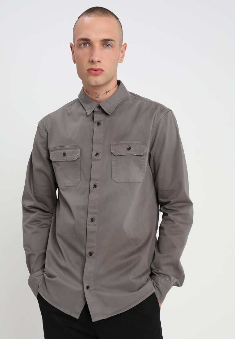 AllSaints - BRYANT SHIRT - Chemise - light khaki green
