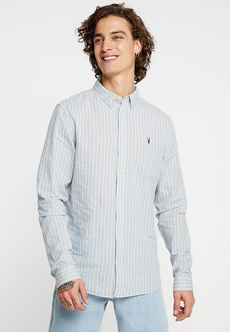 AllSaints - AMBROSE SHIRT - Skjorta - blue/white