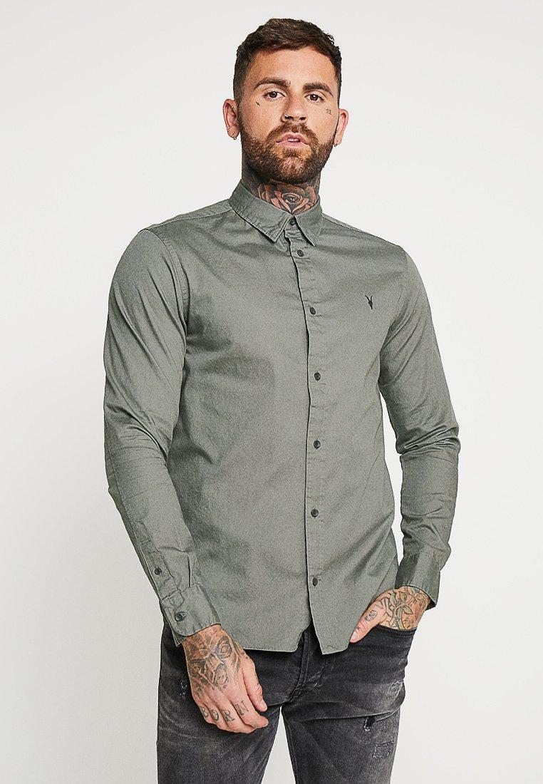 AllSaints - REDONDO SHIRT - Shirt - sheal green