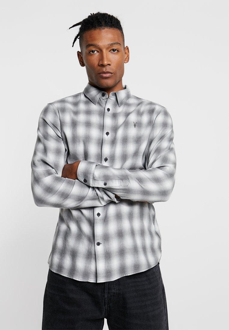 AllSaints - HAZEN - Shirt - black/chalk white