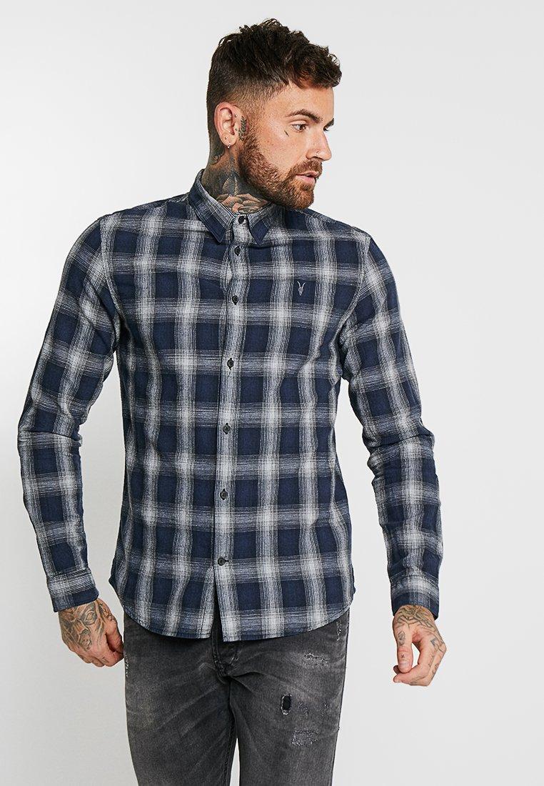 AllSaints - MILFORD - Hemd - dark blue