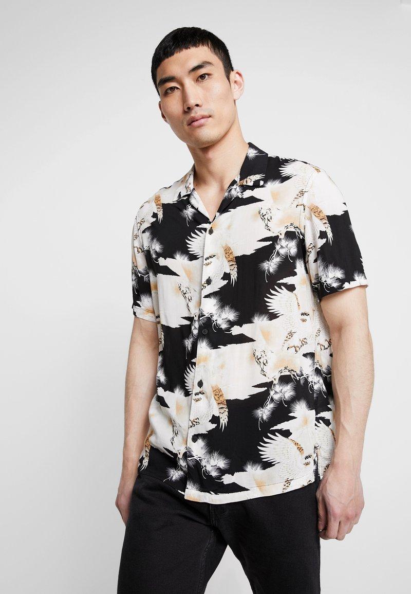 AllSaints - TALON SHIRT - Shirt - jet black
