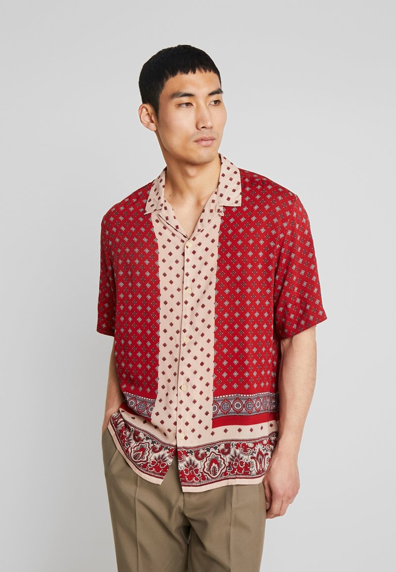 AllSaints - MALTESE  SHIRT - Shirt - red