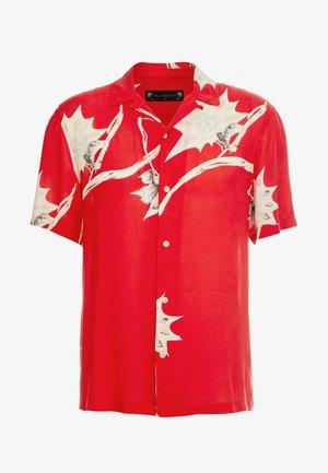MOKAPU SHIRT - Camicia - tsuru red