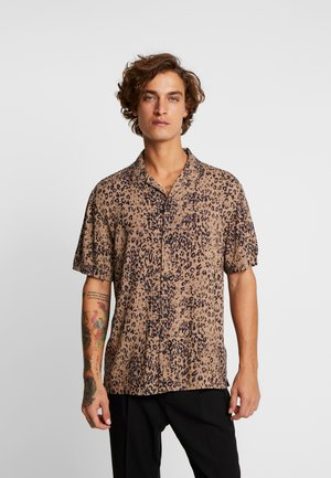 PATCH - Skjorte - brown/black