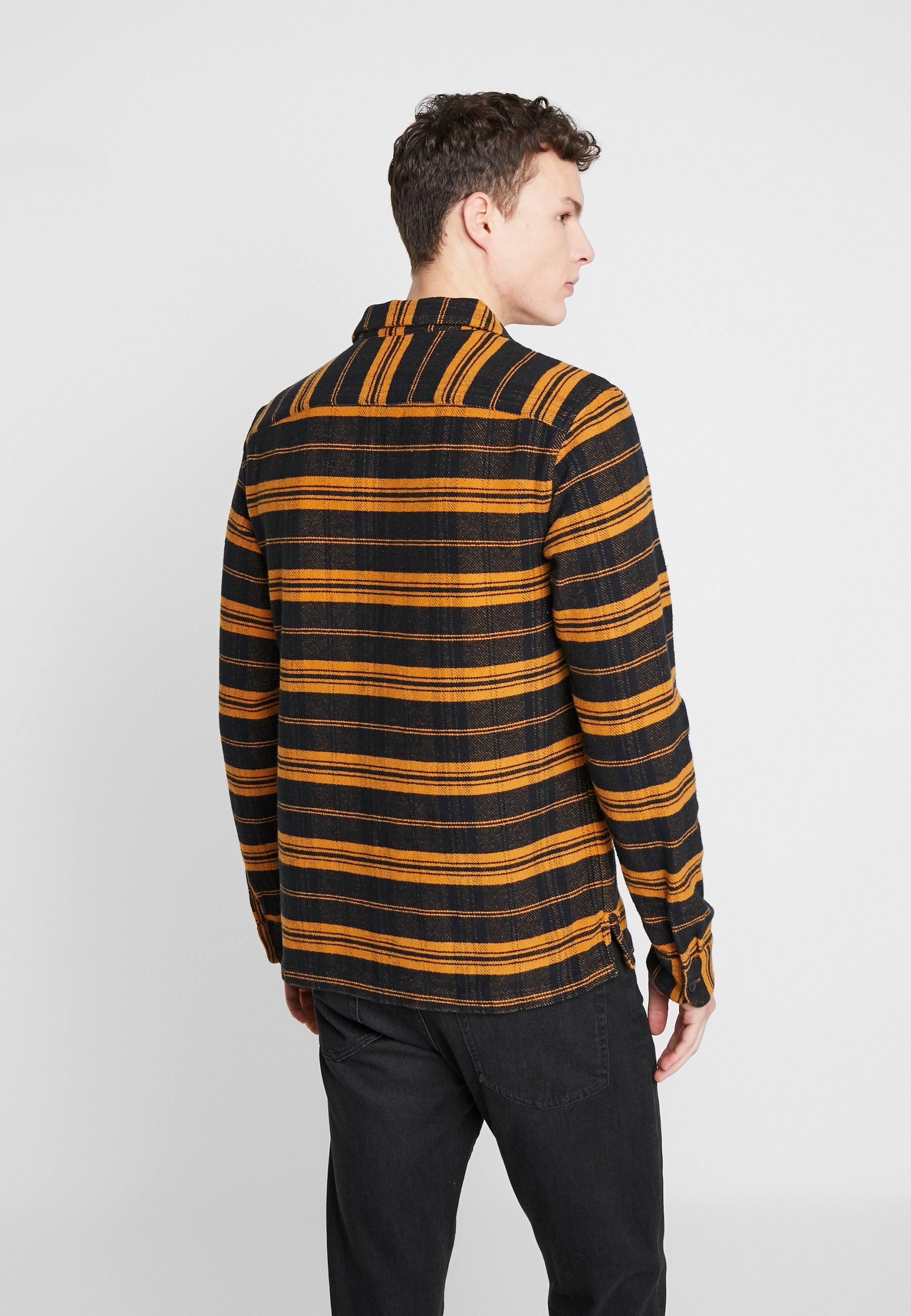 AllSaints OXBOW SHIRT - Koszula - yellow/black