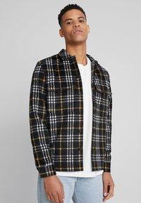AllSaints - BERTHOLD  SHIRT - Skjorta - black - 0