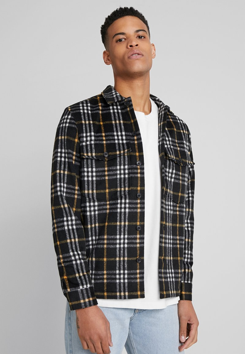 AllSaints - BERTHOLD  SHIRT - Skjorta - black