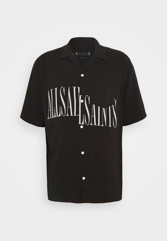 STAMP SHIRT - Skjorter - jet black