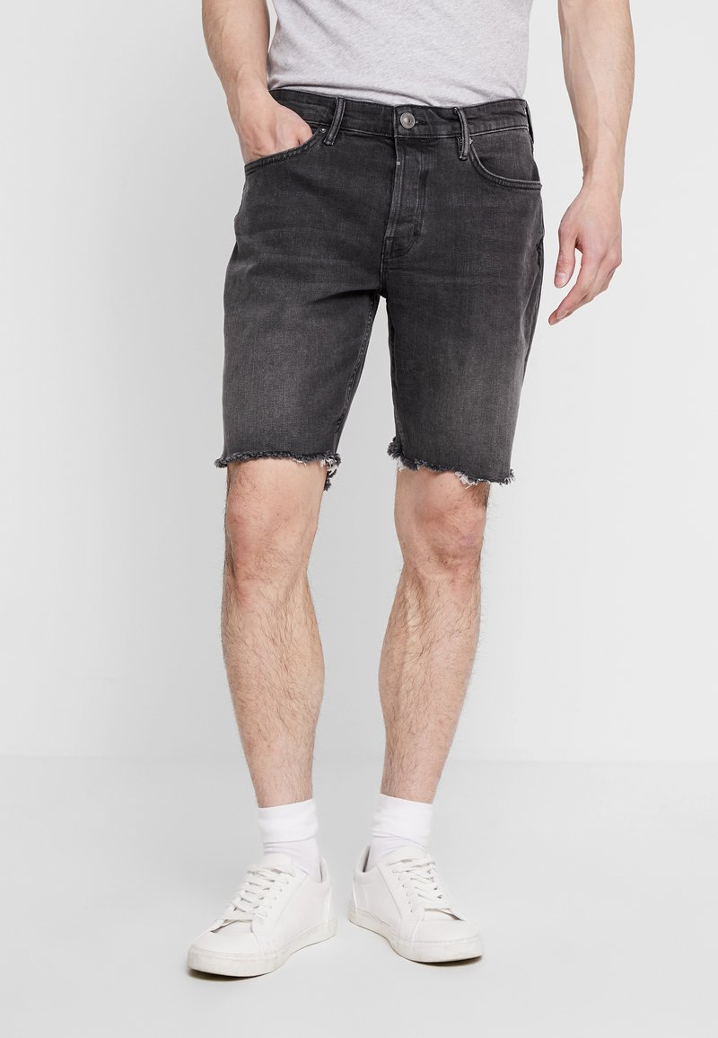 AllSaints - SWITCH - Jeans Shorts - washed black