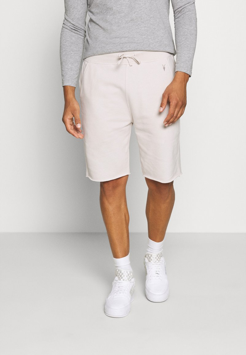 AllSaints - RAVEN  - Træningsbukser - bleach grey