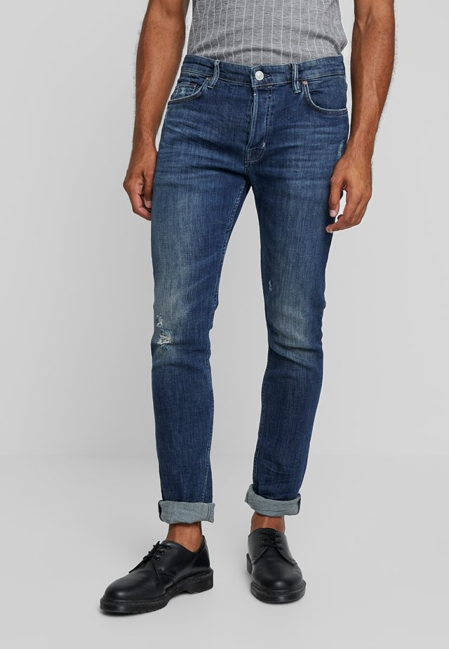 CIGARETTE DAMAGED - Jeans Slim Fit - indigo