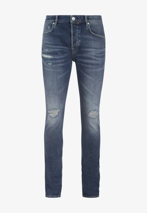 CIGARETTE DAMAGED - Jeans slim fit - blue