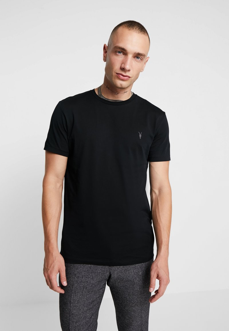 AllSaints - TONIC CREW - T-shirts basic - jet black