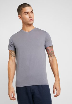 TONIC V-NECK - T-shirt basic - ash blue