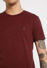 AllSaints - TONIC CREW - Basic T-shirt - maroon red - 5