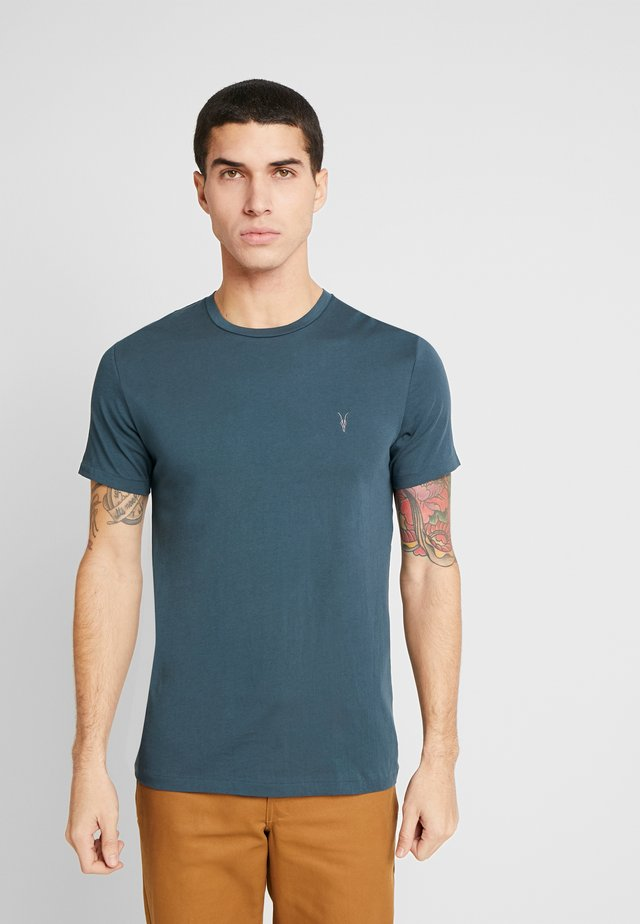 TONIC CREW - T-Shirt basic - teal blue