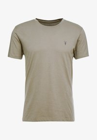 AllSaints - TONIC CREW - T-shirt - bas - beech green - 3