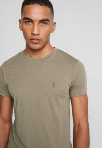 AllSaints - TONIC CREW - T-shirt - bas - beech green - 4