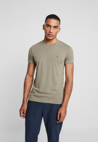 AllSaints - TONIC CREW - T-shirt - bas - beech green - 0