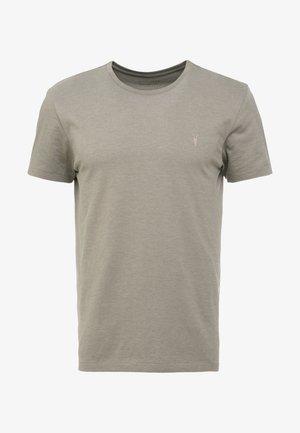 COOPER CREW - Camiseta básica - thorn green marl
