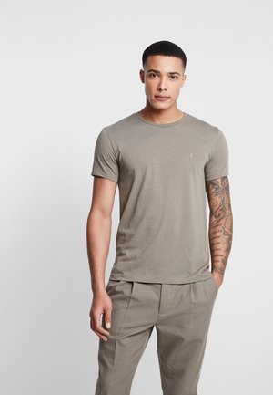 COOPER CREW - T-shirts basic - thorn green marl