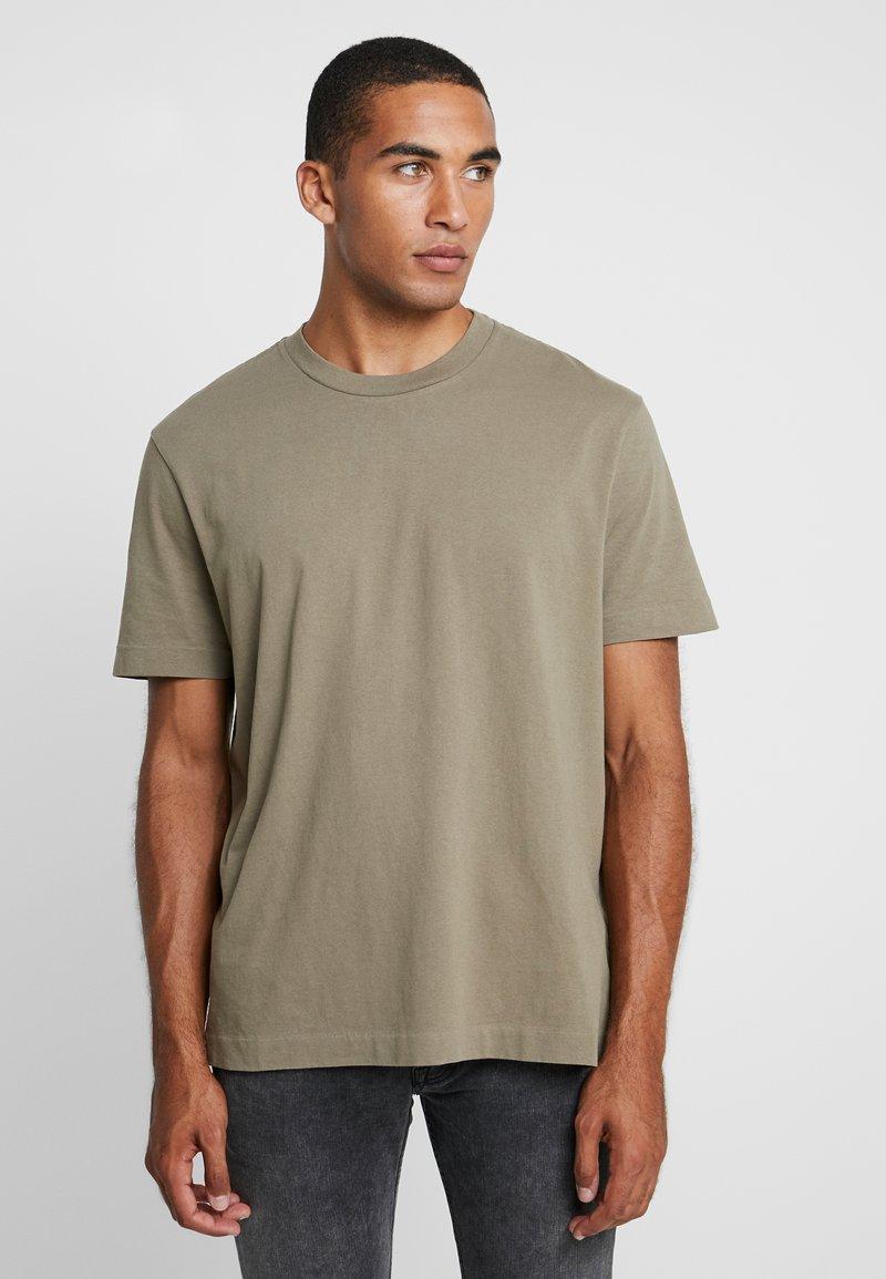 AllSaints - MUSICA CREW - Basic T-shirt - beech green