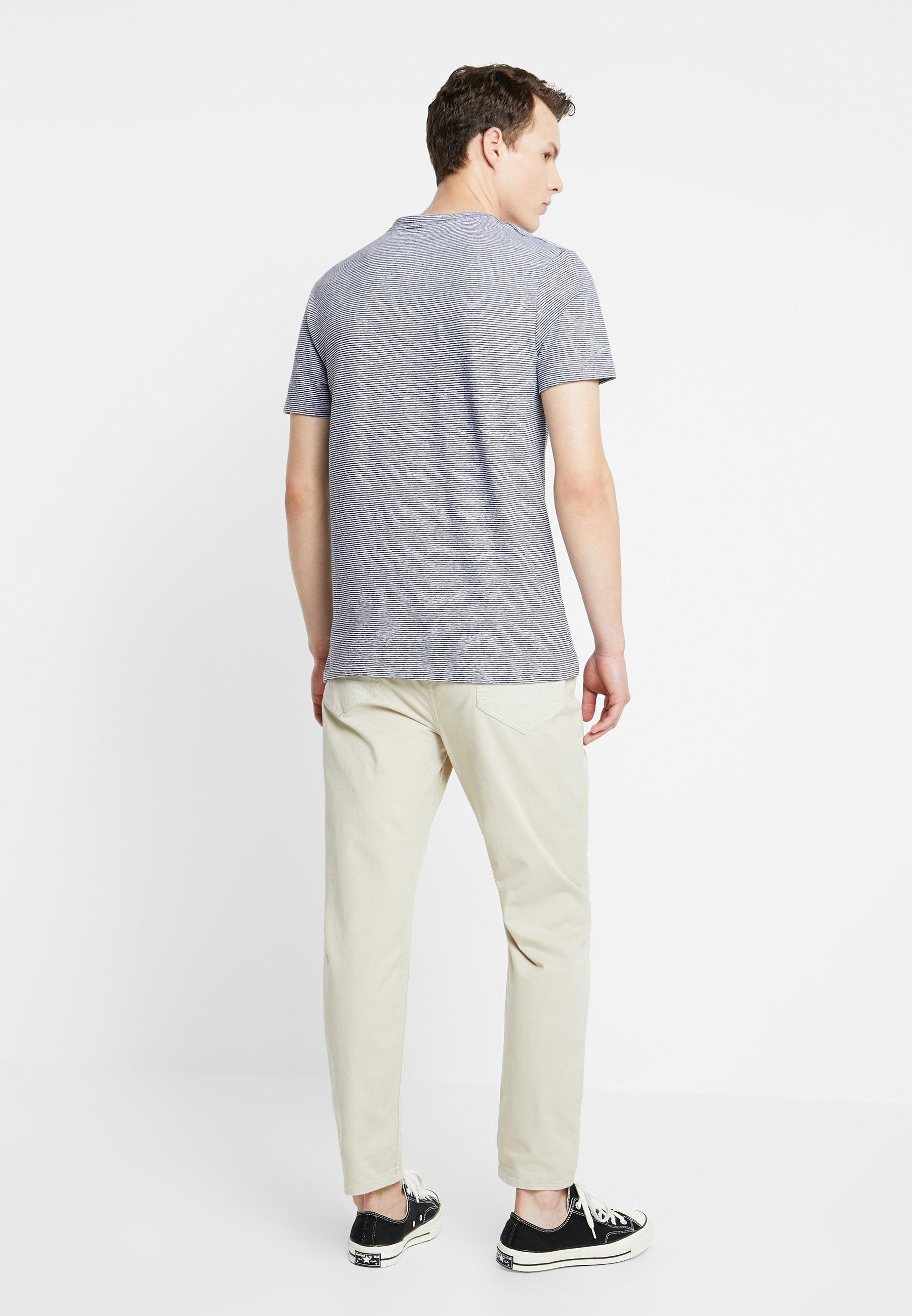 White blue CrewT shirt Tonic Basique Allsaints Lupa 3RqAjL54