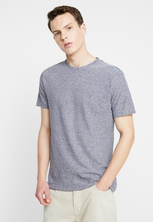 TONIC LUPA CREW - T-shirt basic - white/blue