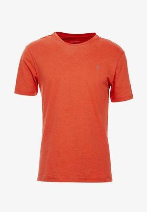 BRACE CREW - T-shirt - bas - brick red