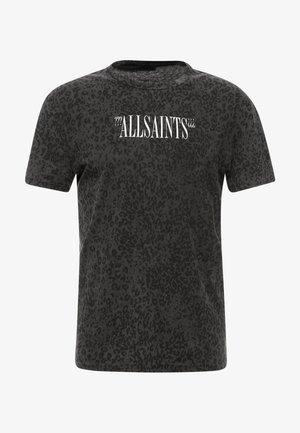 BRACKETS LEO CREW  - T-Shirt print - vintage black/grey