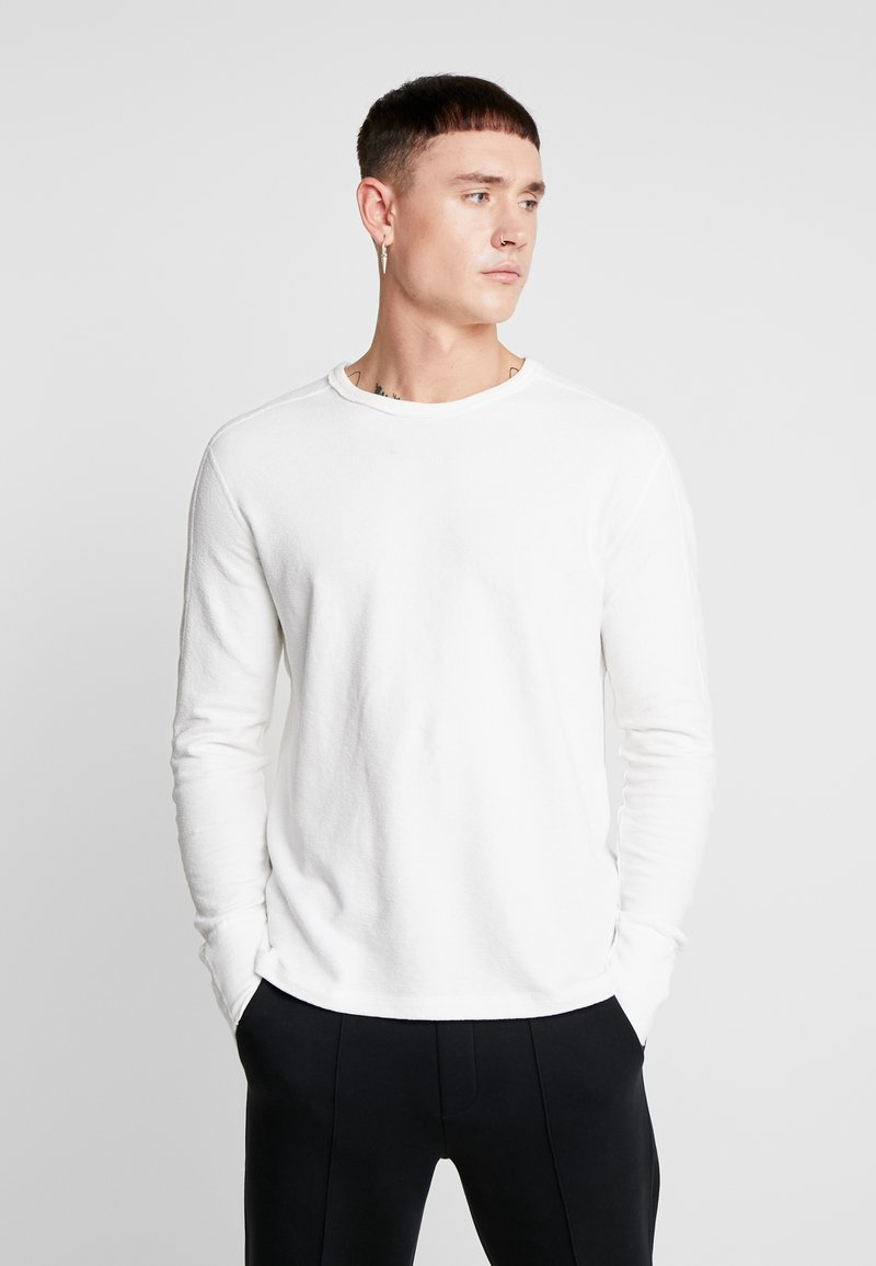 AllSaints - GAVIN CREW - Sweatshirt - chalk white