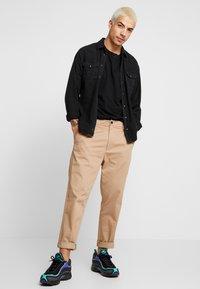 AllSaints - MATEO  CREW - T-shirts - black - 1