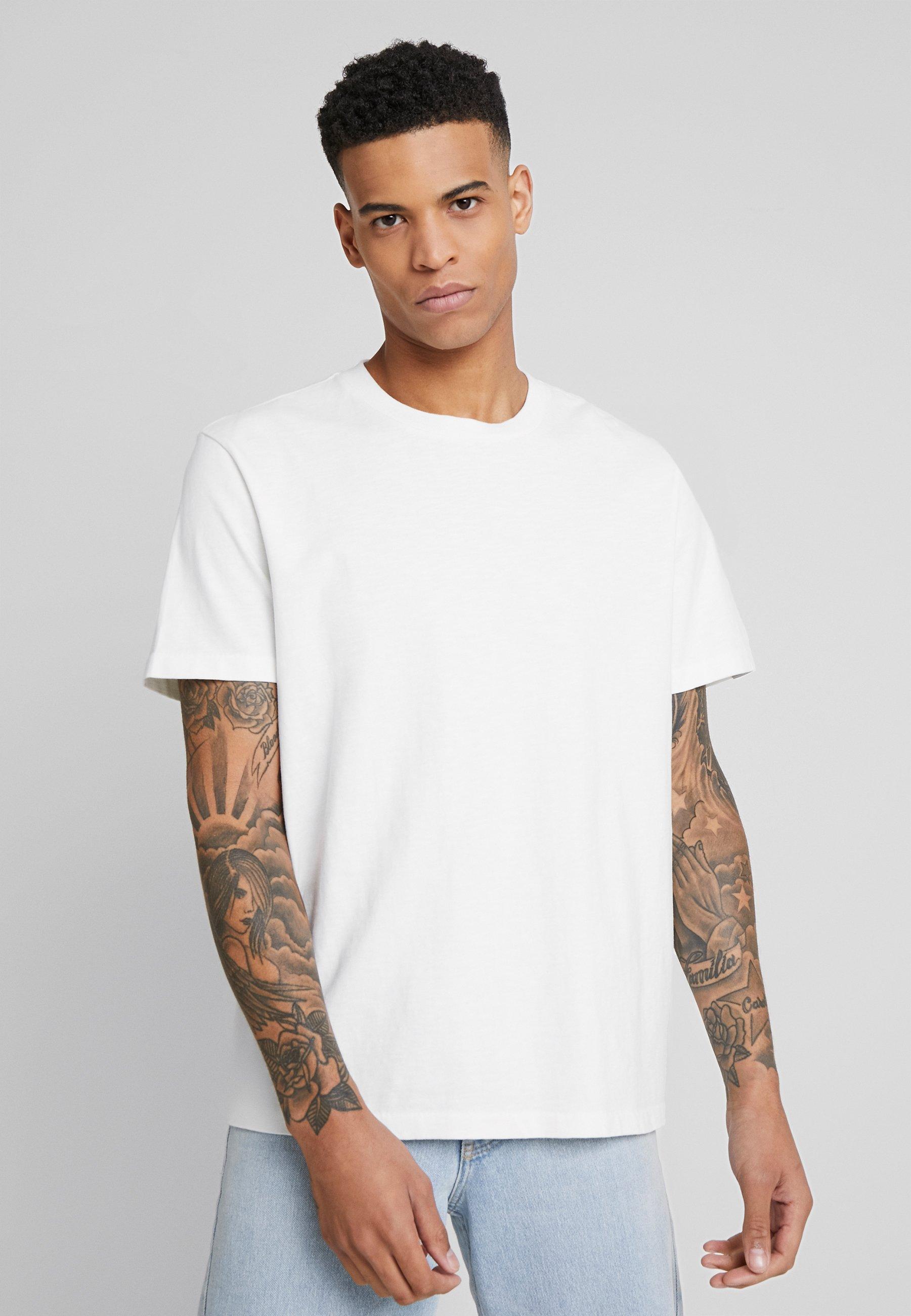 AllSaints SAGE CREW - T-shirt basic - chalk white