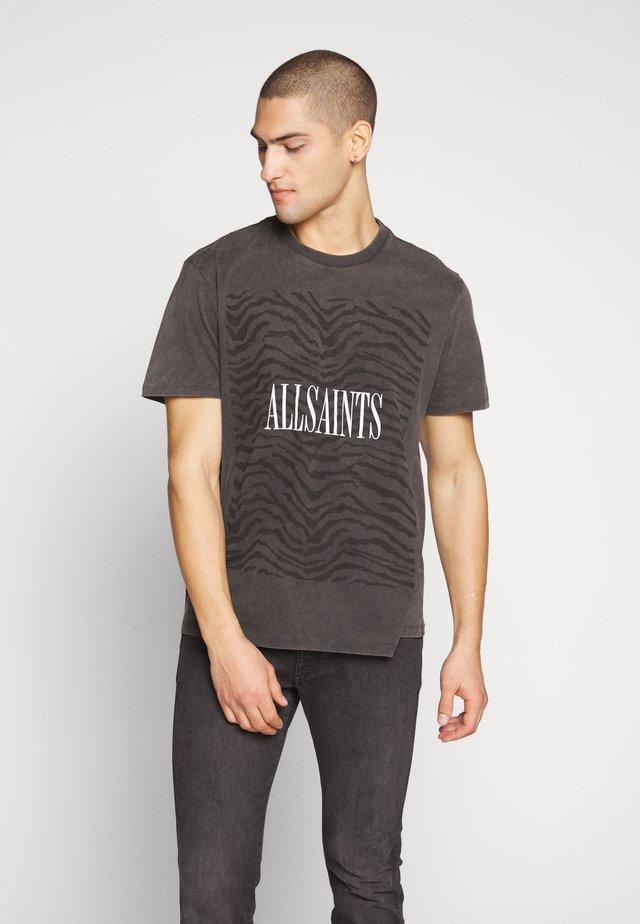ZEBRA BRACKETTS CREW - T-shirts print - vintage black
