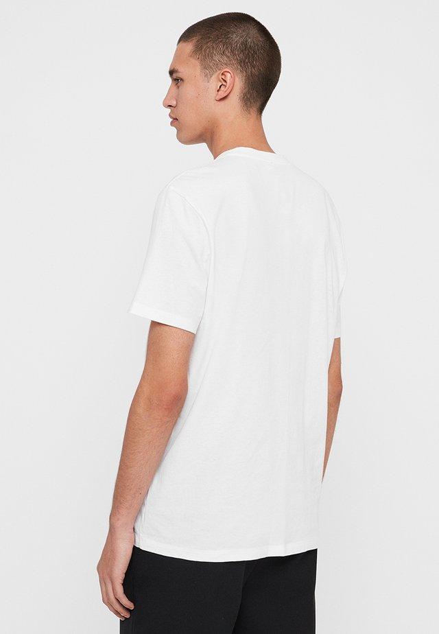 DROPOUT  - T-shirt print - white