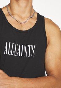 AllSaints - STAMP VEST - Toppe - washed black - 5