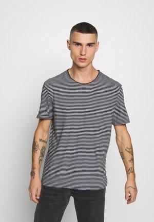 ELLIOT CREW - T-shirt imprimé - black/white
