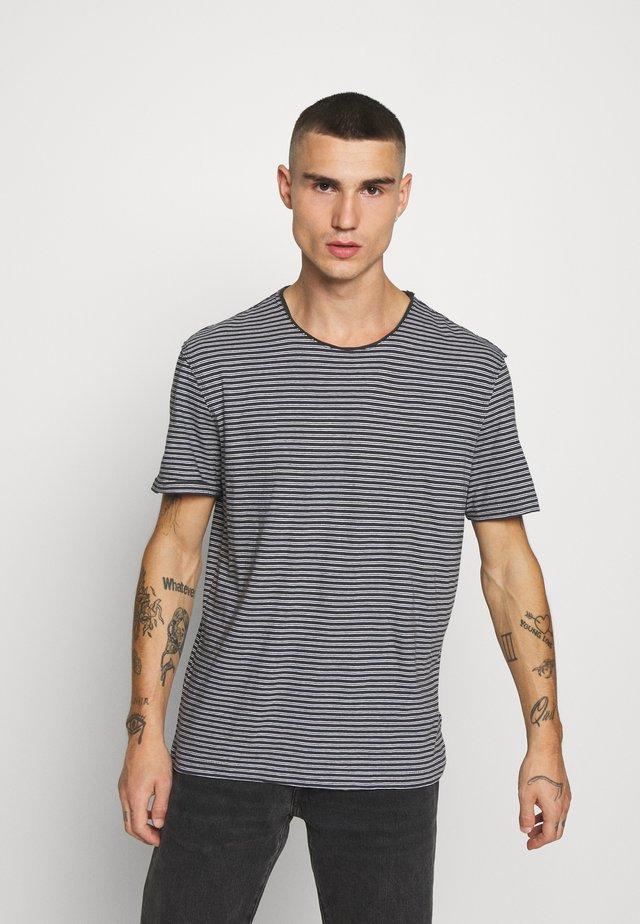 ELLIOT CREW - T-Shirt print - black/white